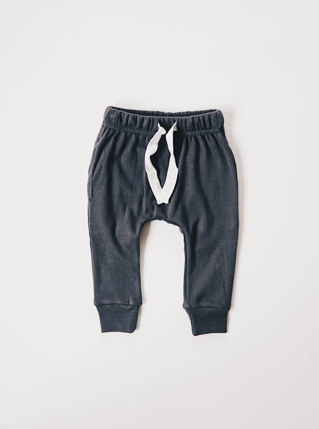charcoal ribbed pocket harems - last one! 4/5T