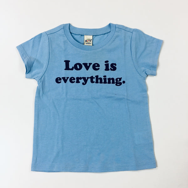 LGF love is everything blue tee