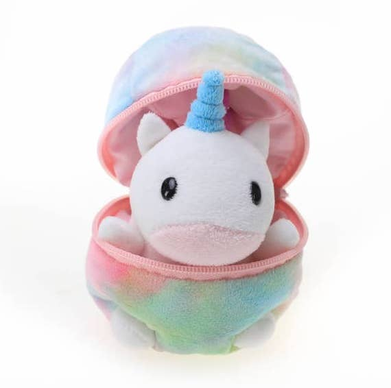 Zip up Egg with Unicorn