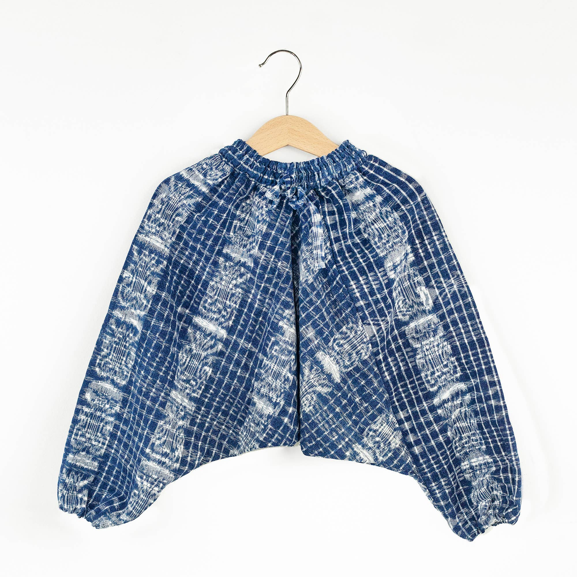 Ikat Soft Pants - indigo