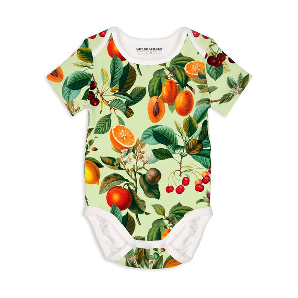 fruit s/s organic bodysuit