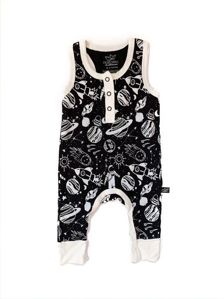 space doodle bamboo tank romper
