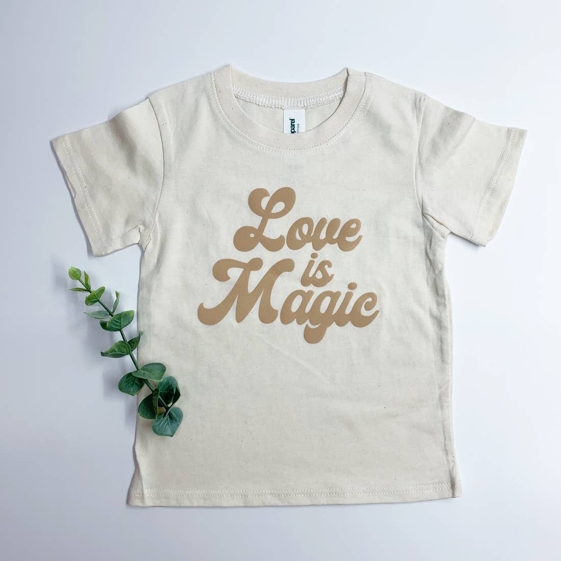 Organic Love Is Magic Short Sleeve Tee