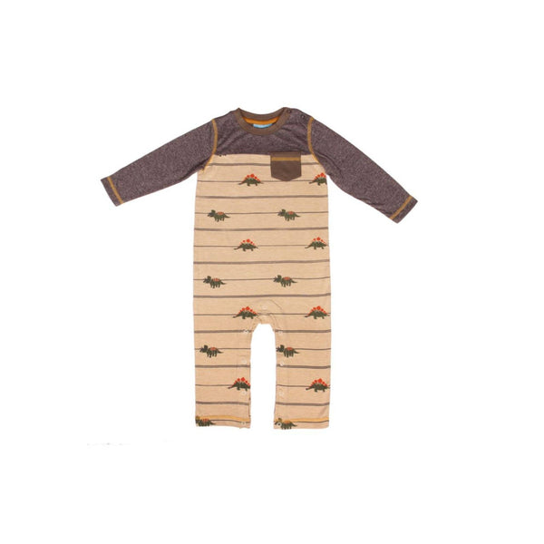 Racing Dino Pocket Romper