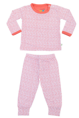 Coral Dots 2 pc. Top/Bottom Set