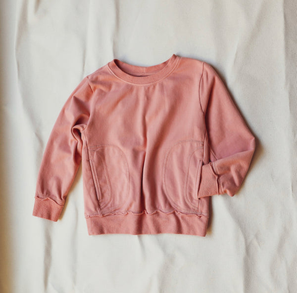 Dakota Sweatshirt- Blooming Dahlia