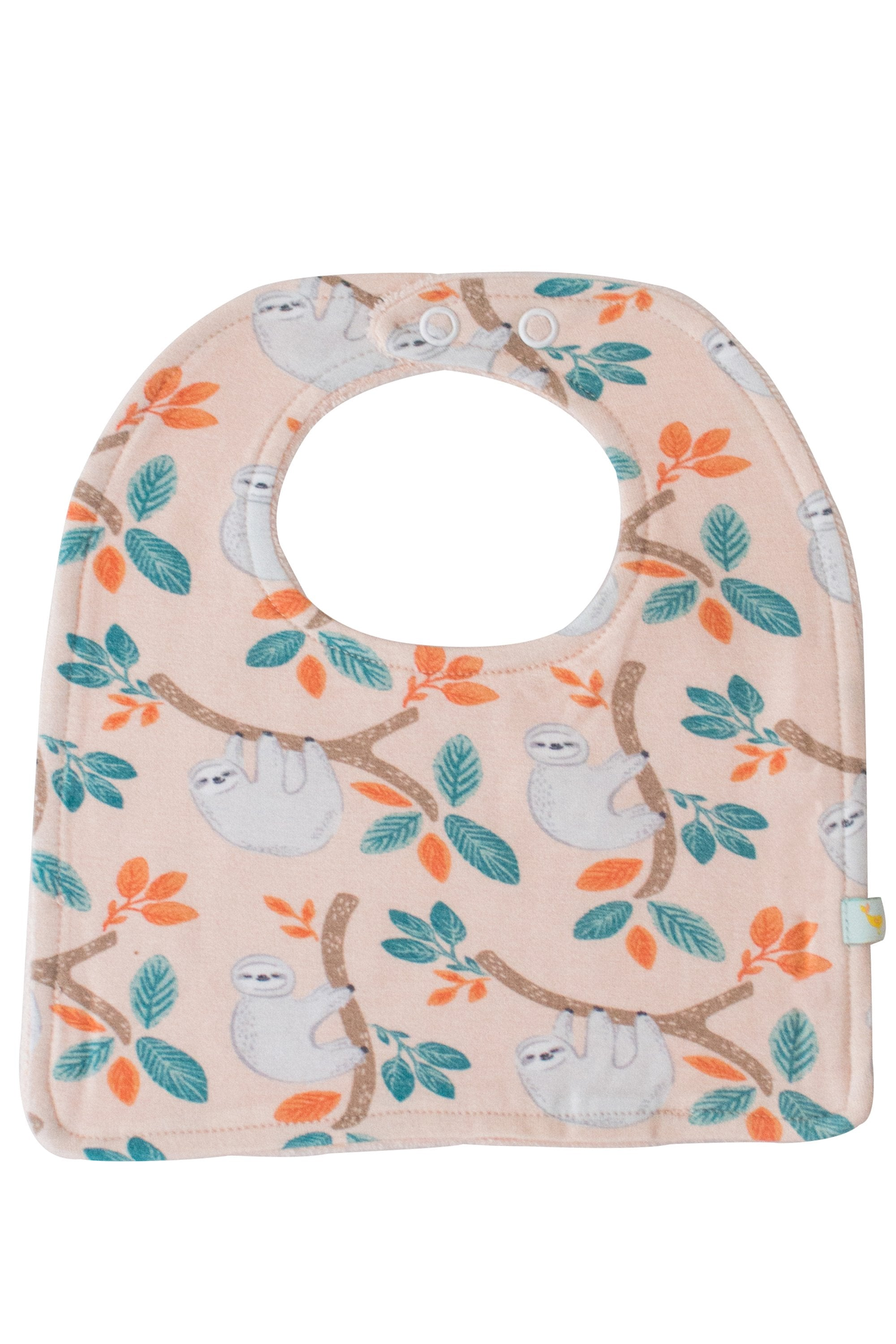 Blush Sloth Bib