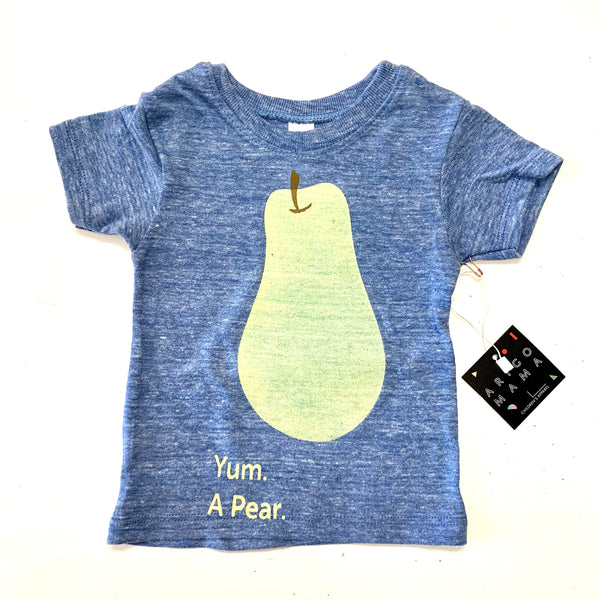 blue pear tee -last one! 6/12M