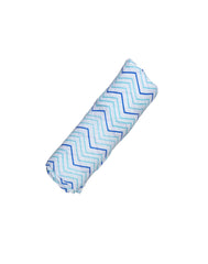 GOTS Certified Organic Cotton Muslin Swaddles - chevron