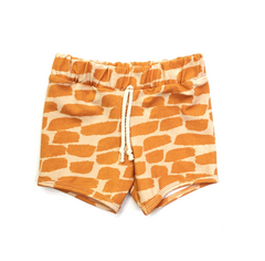 orange peel sun shorts