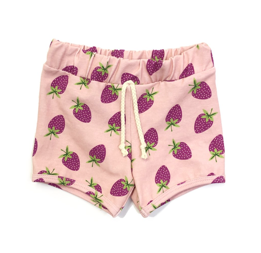strawberry dayz sun shorts