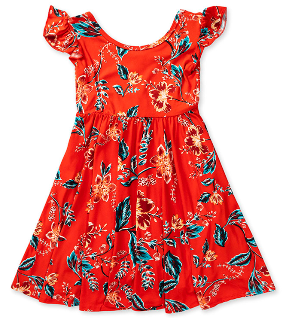 red garden empire spinning dress - last one! 2T