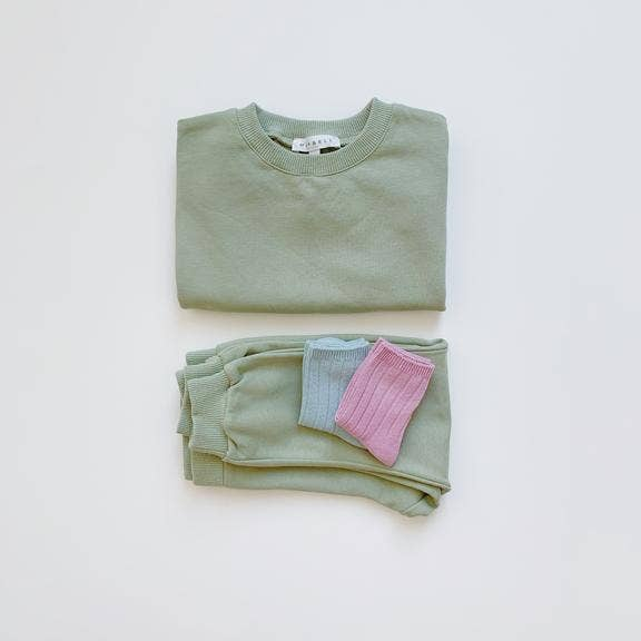 Maybell Studio - Sweatpants - Sage