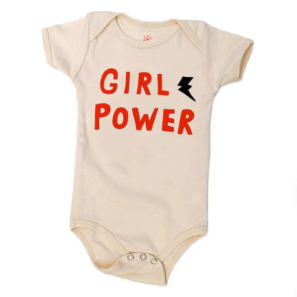 Girl Power organic bodysuit