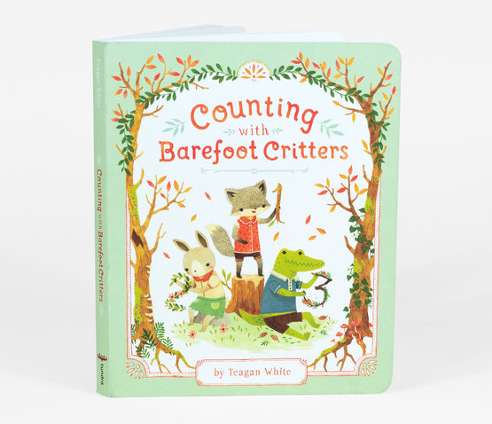 Counting with Barefoot Critters Hard Cover Book