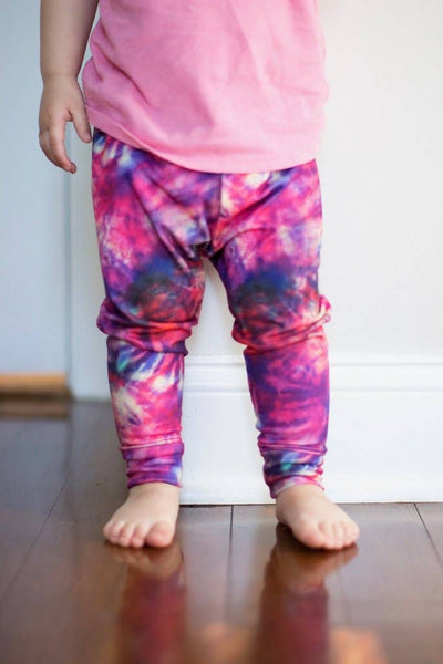 Tie Dye Handmade Leggings - last one! 12/18M