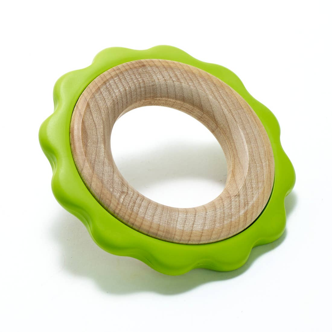 Green Ring Teether - Made in the USA!