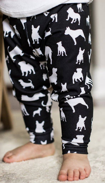 Doggies Handmade Leggings - last one! 4T