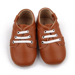 Baby Moccs - Original Oxfords Moccasins - Brown