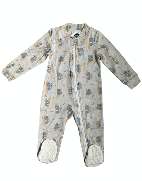 Koala Family Zip Up Romper