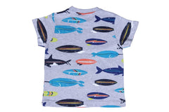 fish surfboard tee