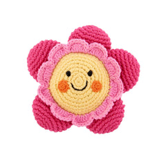 Friendly Flower Rattle
