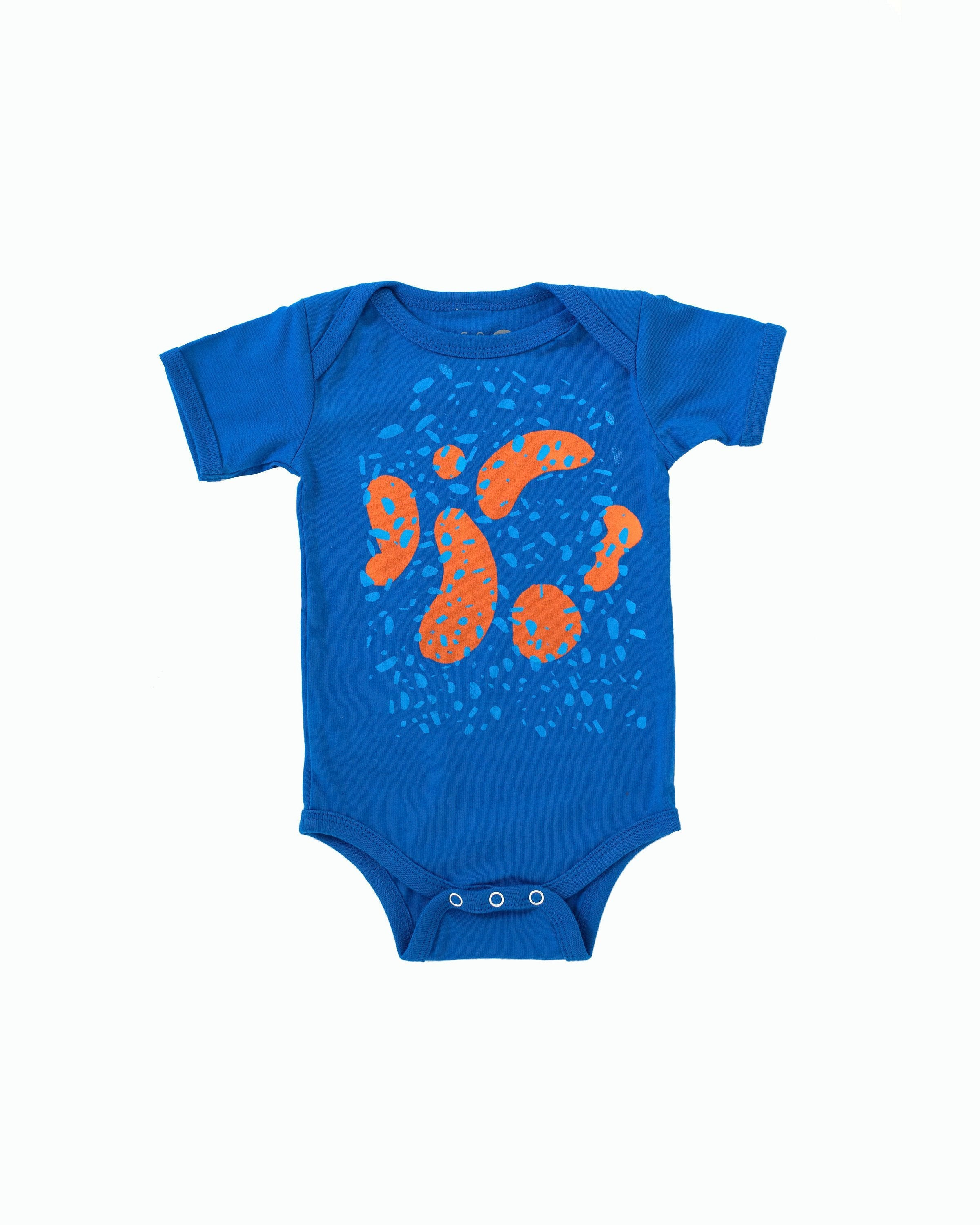 Blue Bubbles onesie