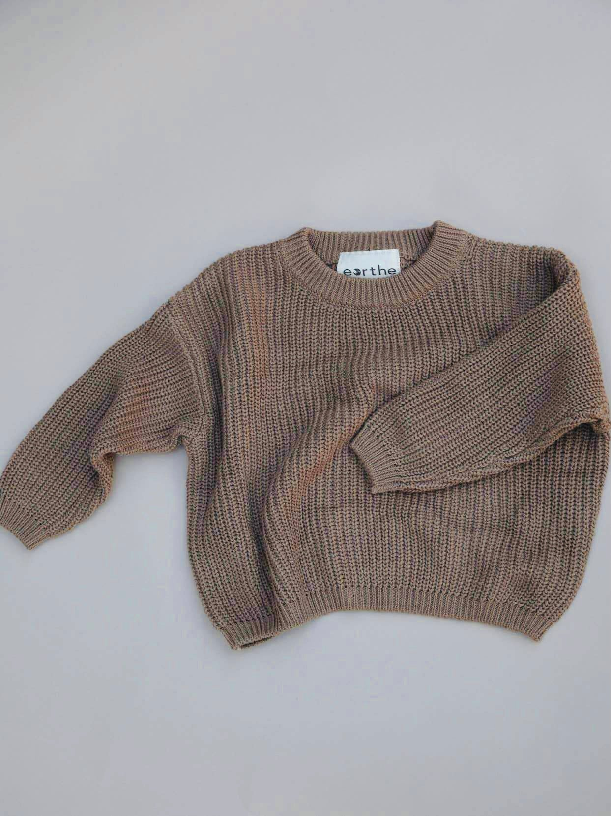 Chunky Knit Sweater - husk