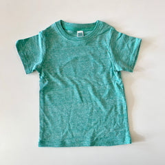 green triblend tee