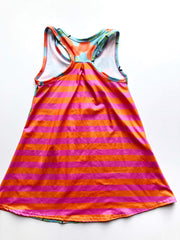 oranges racerback tank dress