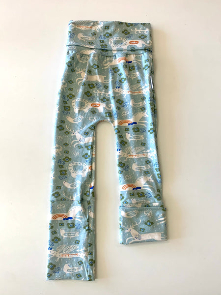 """Grow with Me"" pants- 3M to 12M, 12M to 3T- menagerie"