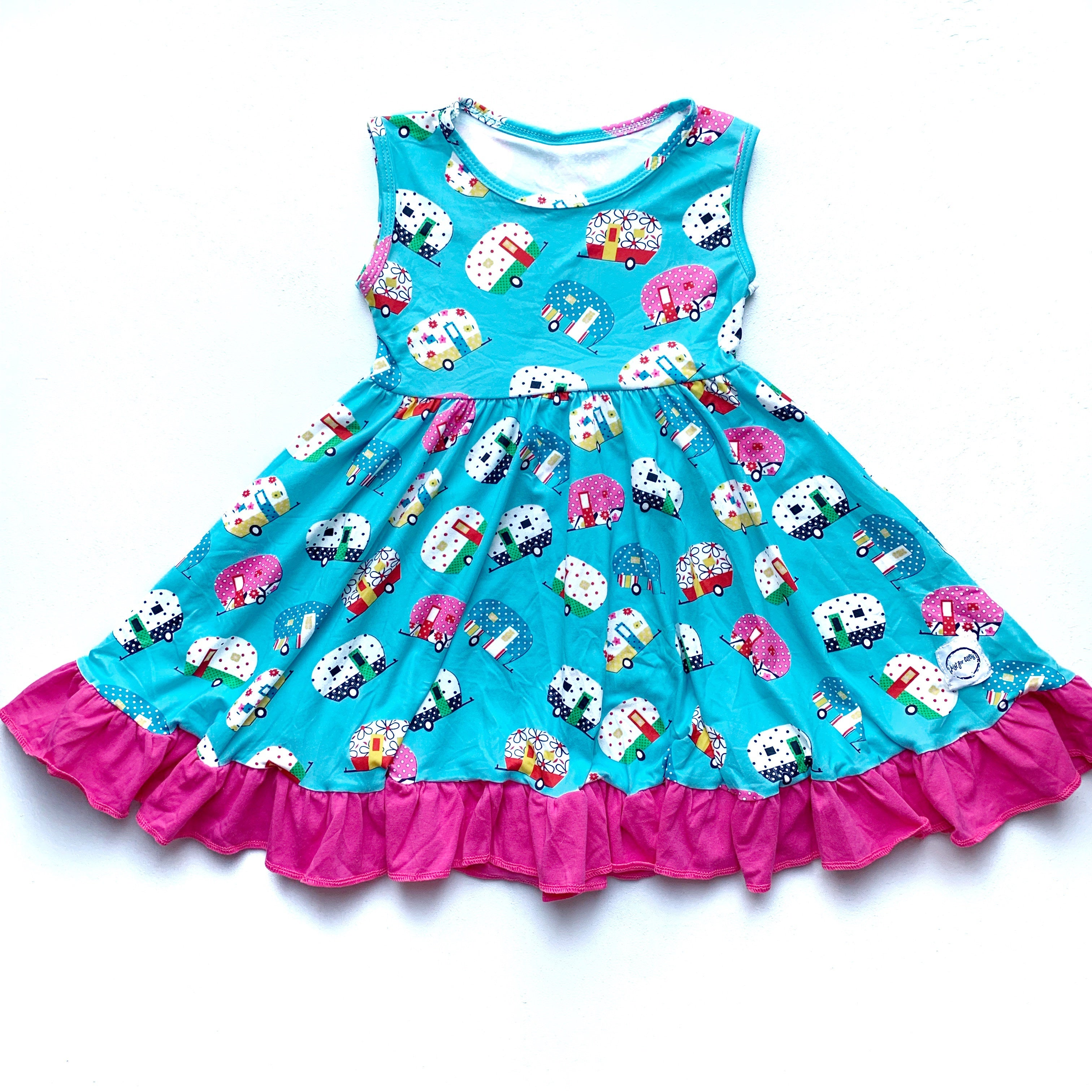 camper twirl dress