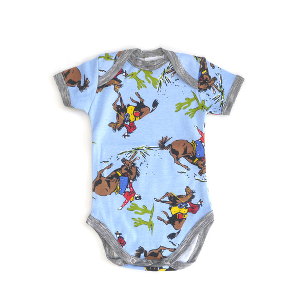 Cowboys Short Sleeve Bodysuit