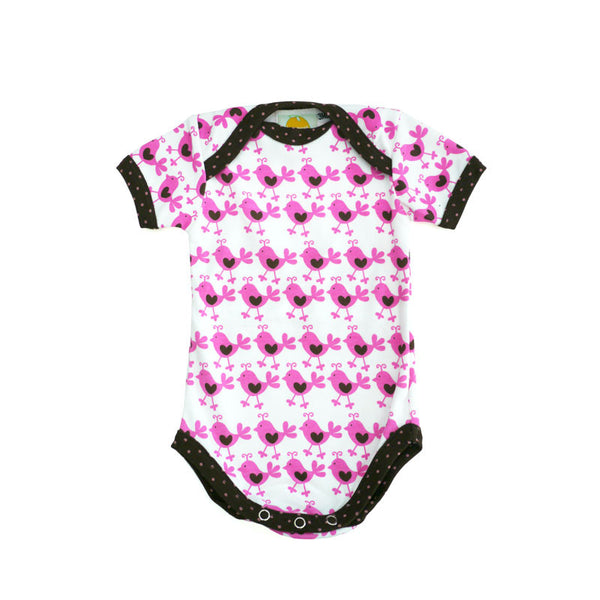 Pink Chicks Short Sleeve Bodysuit