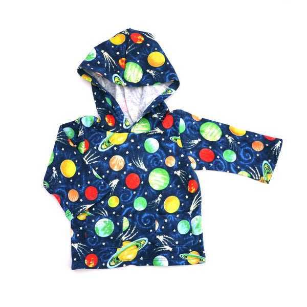 Planets Hooded Pullover