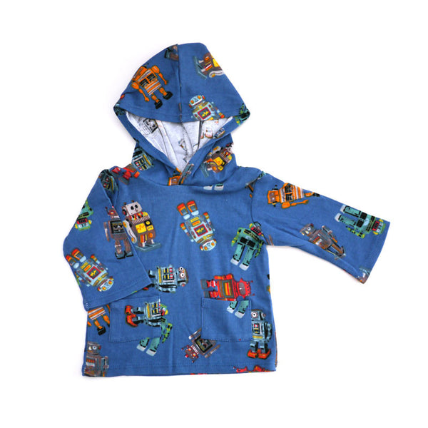 Robot Hooded Pullover