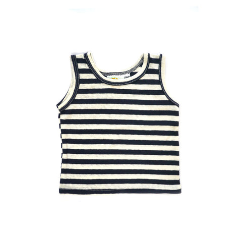 Navy Stripe Tank tops Kumquat