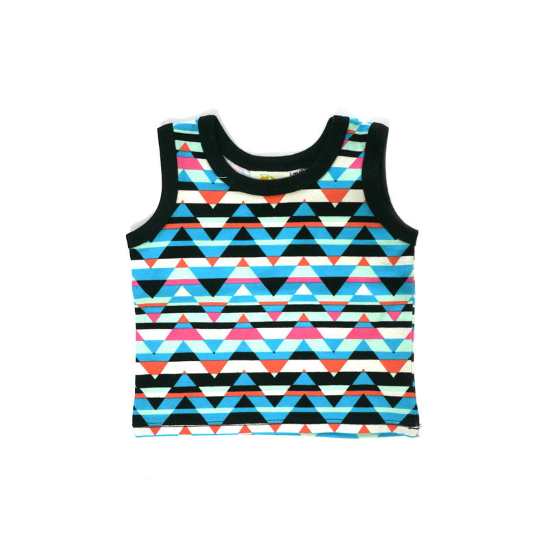 Triangle Stripes Tank tops Kumquat