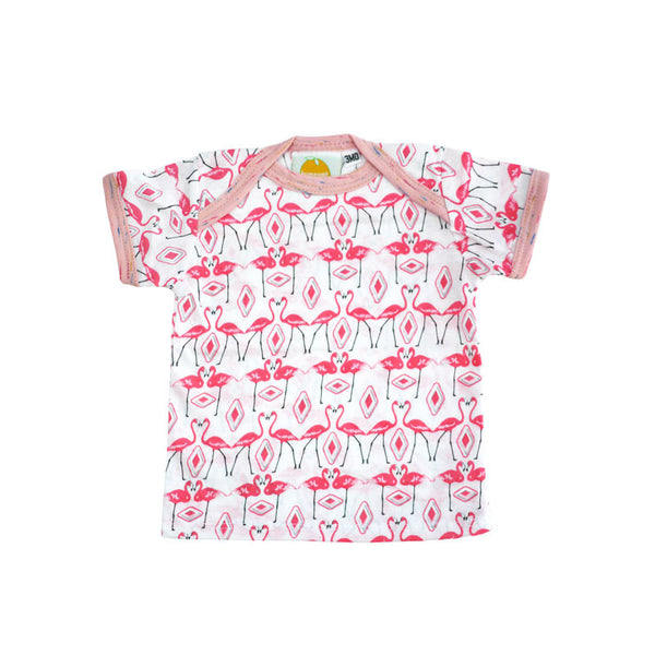 Flamingos Short Sleeve Lap Tee
