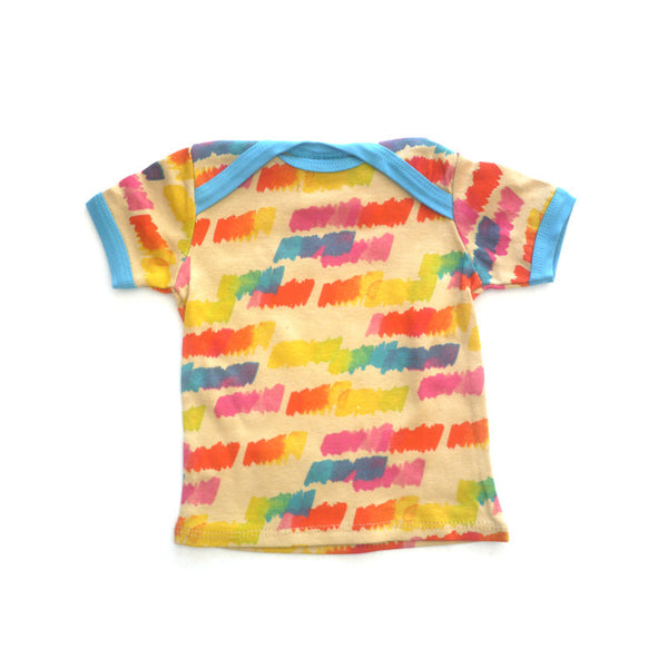 Paint Swatch Short Sleeve Lap Tee