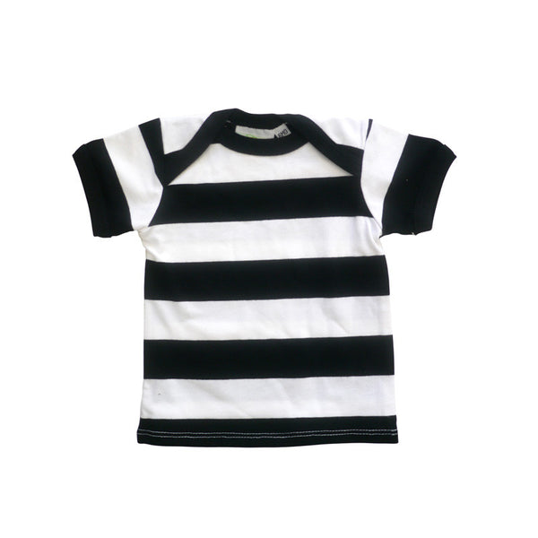 Parisian Stripe Short Sleeve Lap Tee