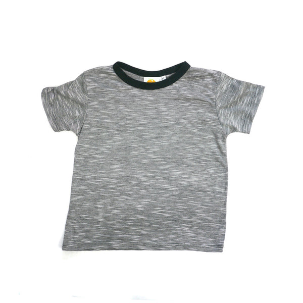 Mini Stripe Short Sleeve Crew Neck Tee