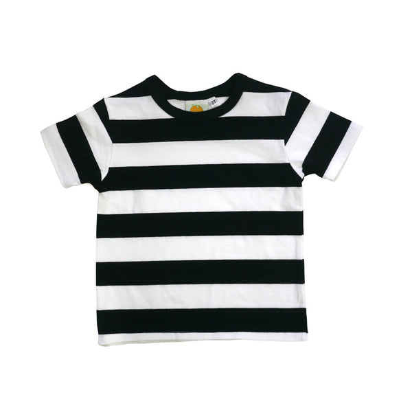 Parisian Stripe Short Sleeve Crew Neck Tee