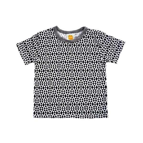 Triangles Short Sleeve Tee