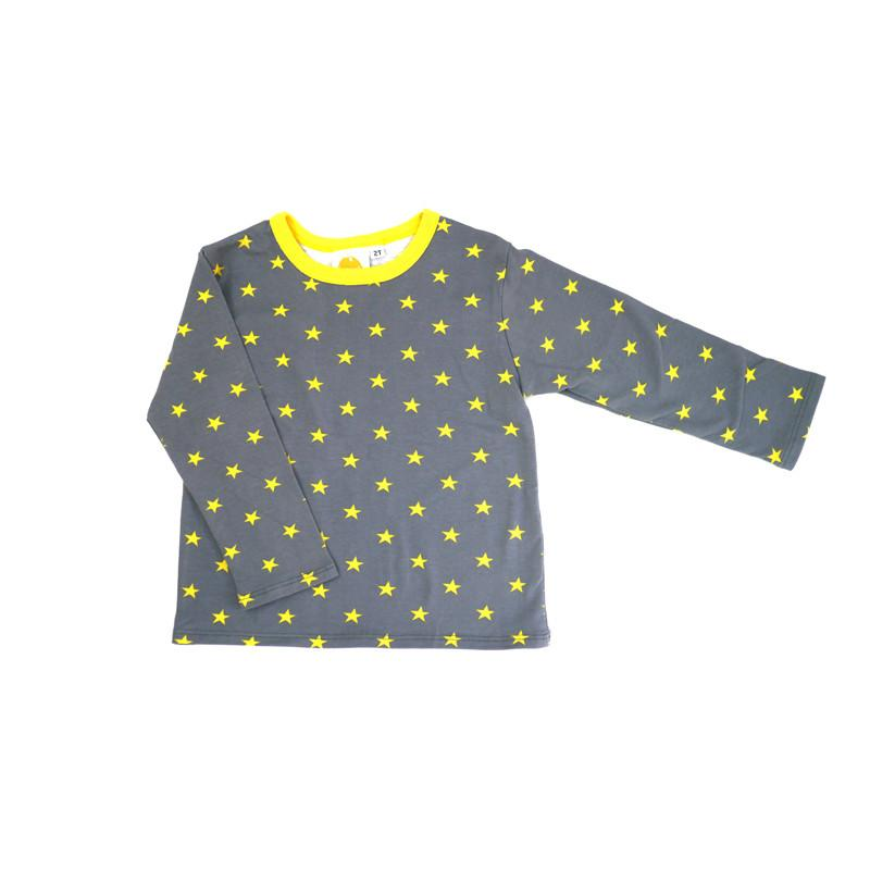 Yellow Stars Long Sleeve Tee