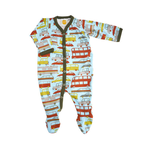Vintage Cars Footie footies Kumquat