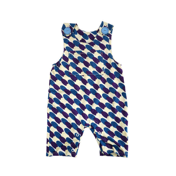 Purple Gold Thumprint Overall Jumper