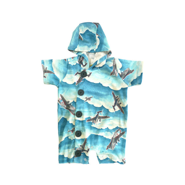 Airplane Hooded Shortall