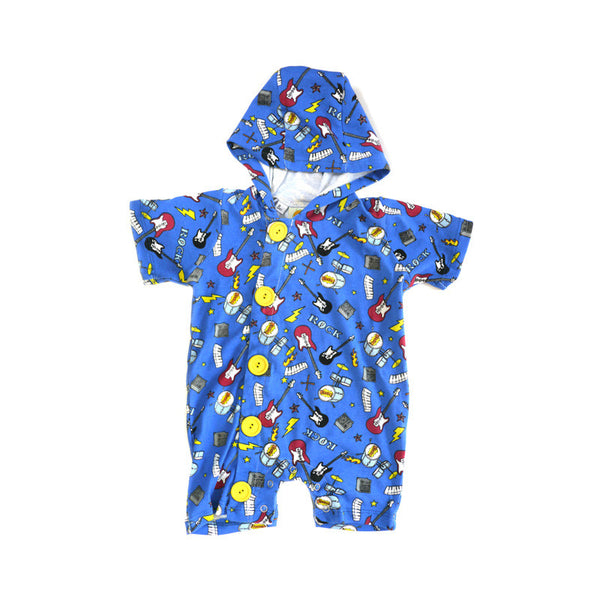 Rock Hooded Shortall