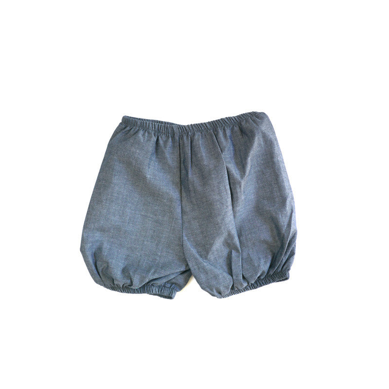 Chambray Bloomer Shorties bottoms Kumquat